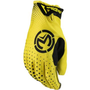 Moose Racing S20 SX1 Motorbike Motorcycle Offroad MX Gloves Yellow - Large